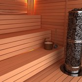Sauna Electric heater Sawo Heaterking Round DRFT3 3.5kW, Without contactor, without control unit