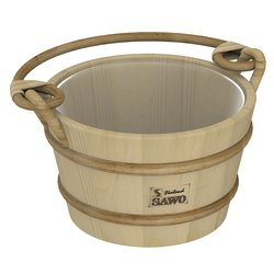 Sawo Bucket 341-P, 4L with plastic insert, Pine