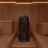 Sauna Electric heater Sawo Tower Round TH3 3.5kW, Without contactor, without control unit