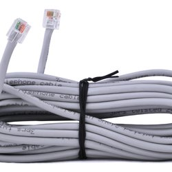 Sawo Extendable low voltage cable 2m with snap in RJ connectors, INN-R2