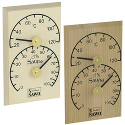 Sawo Thermo-Hygrometer 106-THB, Rectangular