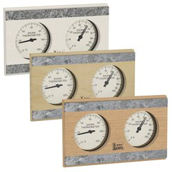 Sawo Thermo-Hygrometer 282-THR, With stone strip
