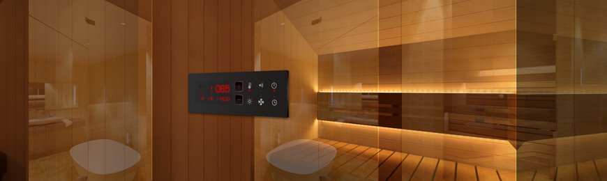 Sauna Control units and accessories