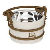 Sawo Bucket 321-MA, 2L with stainless insert, Aspen