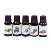 SAUFLEX SAUNA ESSENTIAL OIL COLLECTION 5X15ML Forest