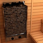 Sauna Electric heater Sawo Cirrus Rock 4.5kW, With integrated control unit