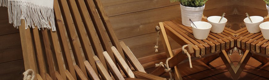 Sauna furniture