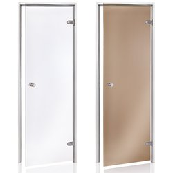 Steam bath door