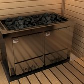 Sauna Electric heater Sawo Taurus V12 18.0kW, Without stone separator