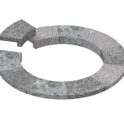Sawo Soapstone Embedding Flange for Tower TH4 Round