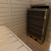 Sauna Electric heater Sawo Cirrus 4.5kW, With integrated control unit