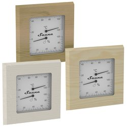 Sawo Thermo-Hygrometer 225-TH, square